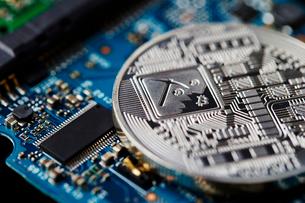 仮想通貨の写真素材 [FYI01807416]