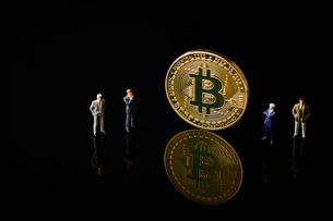 ビットコインの写真素材 [FYI01807430]