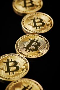ビットコインの写真素材 [FYI01807471]