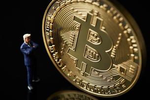 仮想通貨の写真素材 [FYI01807501]