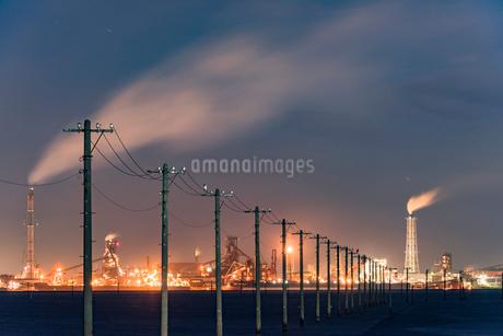 江川海岸 海中電柱の写真素材 [FYI01807515]