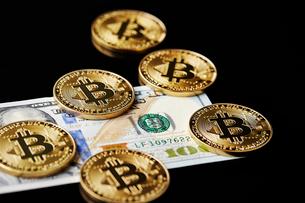 仮想通貨の写真素材 [FYI01807554]