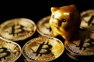 仮想通貨の写真素材 [FYI01807672]