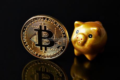 仮想通貨の写真素材 [FYI01807676]
