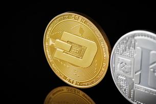 仮想通貨の写真素材 [FYI01807694]
