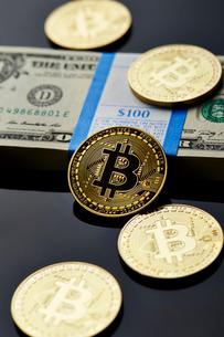 仮想通貨の写真素材 [FYI01807980]