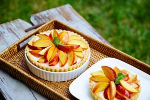 りんごのタルトの写真素材 [FYI01808191]
