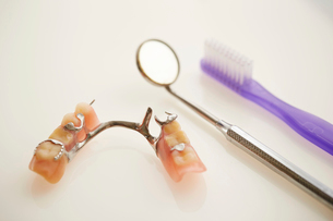 部分入れ歯の写真素材 [FYI01808216]