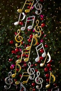 クリスマスツリーの写真素材 [FYI01808357]
