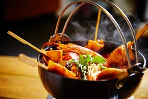 韓国のおでん鍋の写真素材 [FYI01808392]
