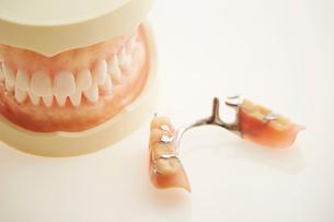 部分入れ歯の写真素材 [FYI01808468]
