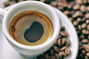 ブラックコーヒーの写真素材 [FYI01808964]