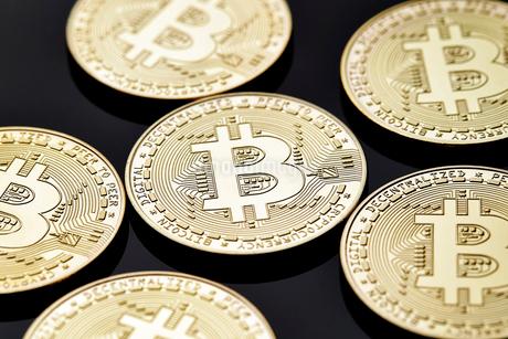 ビットコインの写真素材 [FYI01809042]
