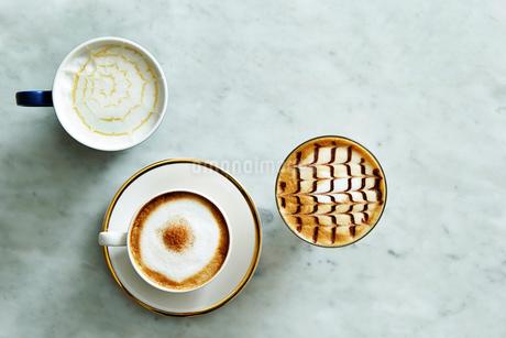 コーヒー集合の写真素材 [FYI01809291]