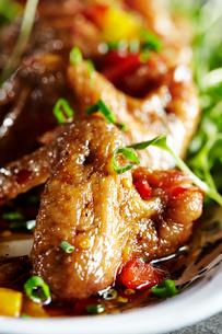 鶏の照り焼きの写真素材 [FYI01809350]