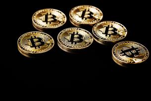 ビットコインの写真素材 [FYI01809406]