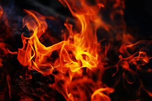 炎の写真素材 [FYI01810033]