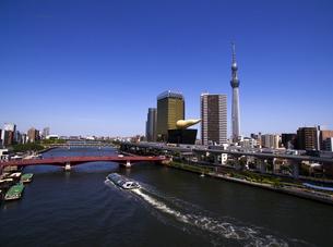 浅草隅田川の写真素材 [FYI01810188]