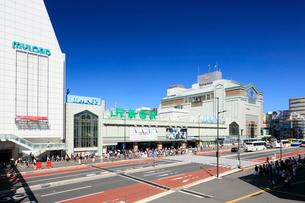 新宿駅南口の写真素材 [FYI01810194]