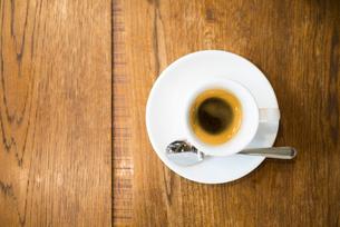 カフェでエスプレッソの写真素材 [FYI01810408]