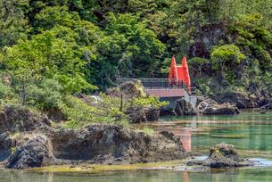 新潟県 佐渡島 矢島・経島の写真素材 [FYI01810419]