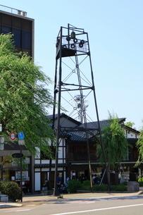 ひがし茶屋街の半鐘の写真素材 [FYI01810899]