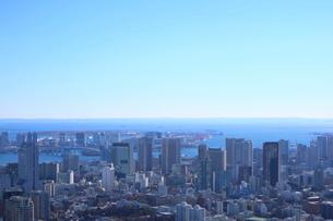 六本木ヒルズ屋上スカイデッキからの眺望の写真素材 [FYI01810967]