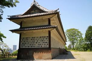 金沢城公園の櫓の写真素材 [FYI01810988]
