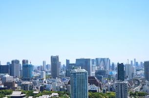麻布十番から見える港区の眺望の写真素材 [FYI01811076]