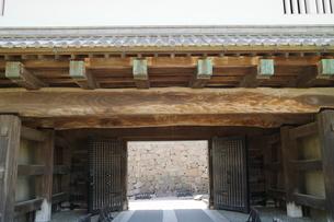 金沢城公園の門の写真素材 [FYI01811107]