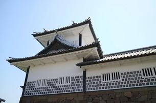 金沢城公園の金沢城趾の写真素材 [FYI01811179]