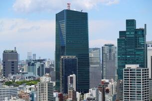 麻布十番から見える港区の眺望の写真素材 [FYI01811190]