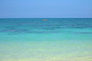 ハワイのビーチバケーションの写真素材 [FYI01811206]