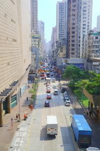 香港の街角の写真素材 [FYI01811237]
