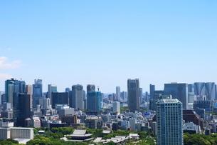 麻布十番から見える港区の眺望の写真素材 [FYI01811255]