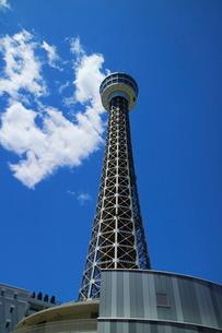 横浜マリンタワーの写真素材 [FYI01811341]
