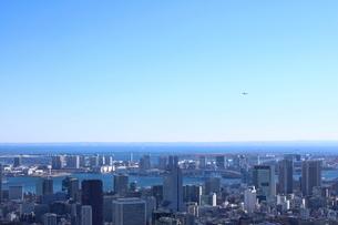 六本木ヒルズ屋上スカイデッキからの眺望の写真素材 [FYI01811346]