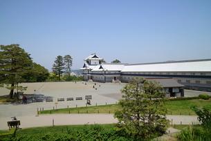 金沢城公園の金沢城趾の写真素材 [FYI01811362]
