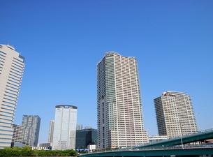 湾岸エリアの高層ビルの写真素材 [FYI01811397]