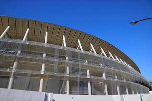 建設中の新国立競技場の写真素材 [FYI01811536]