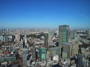 六本木ヒルズから見た東京ミッドタウン方面の写真素材 [FYI01811564]