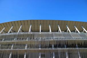 建設中の新国立競技場の写真素材 [FYI01811576]