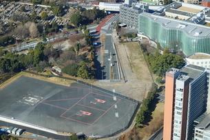 六本木ヒルズ屋上スカイデッキからの眺望の写真素材 [FYI01811583]