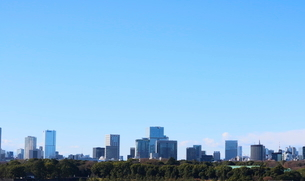 丸の内から見た霞ヶ関・新宿方面の写真素材 [FYI01811642]
