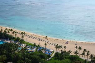 ハワイのビーチバケーションの写真素材 [FYI01811645]