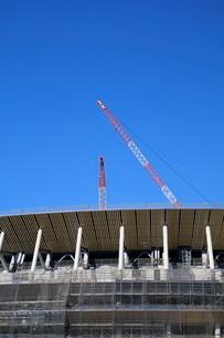 建設中の新国立競技場の写真素材 [FYI01811661]