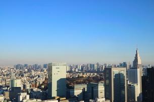 東京都庁から見た大手町方面の写真素材 [FYI01811721]