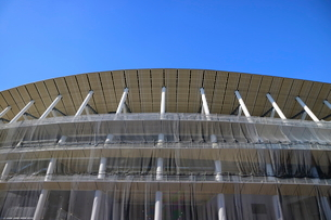 建設中の新国立競技場の写真素材 [FYI01811759]