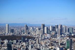 六本木ヒルズ屋上スカイデッキからの眺望の写真素材 [FYI01811780]