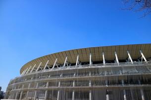 建設中の新国立競技場の写真素材 [FYI01811797]